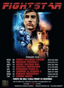 Fightstar Tour Poster