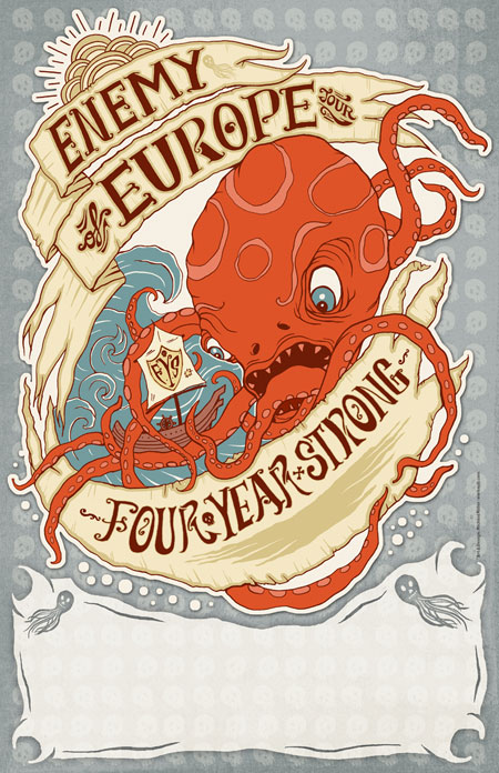 Four Year Strong - Enemy Of Europe