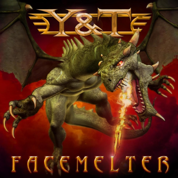 Y&T Facemelter Artwork
