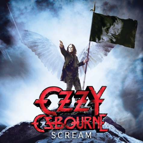 Ozzy Osbourne Scream Artwork