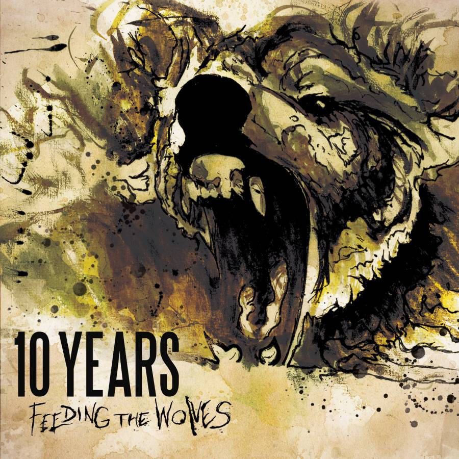 10 Years Feeding The Wolves Artwork
