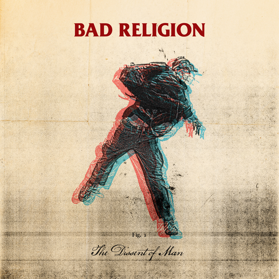 Bad Religion The Dissent Of Man Artwork