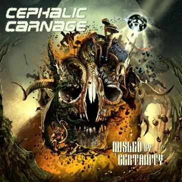 Cephalic Carnage Artwork