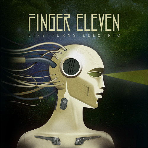 Finger Eleven Life Turns Electric Artwork