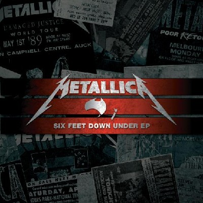Metallica Six Feet Down Under EP Artwork