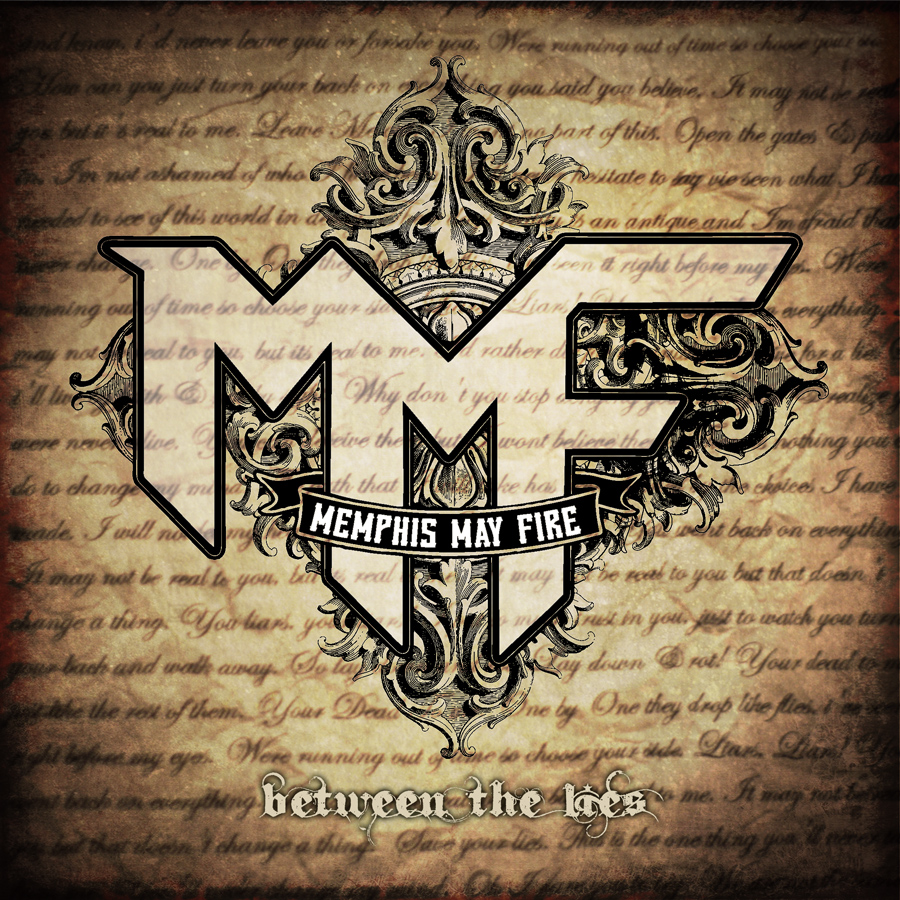 Memphis May Fire Between The Lies Artwork