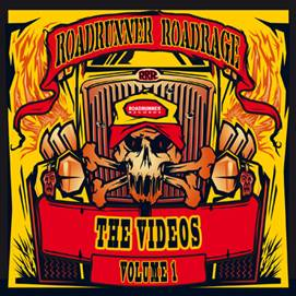 Roadrunner Roadrage The Videos Volume 1 Artwork