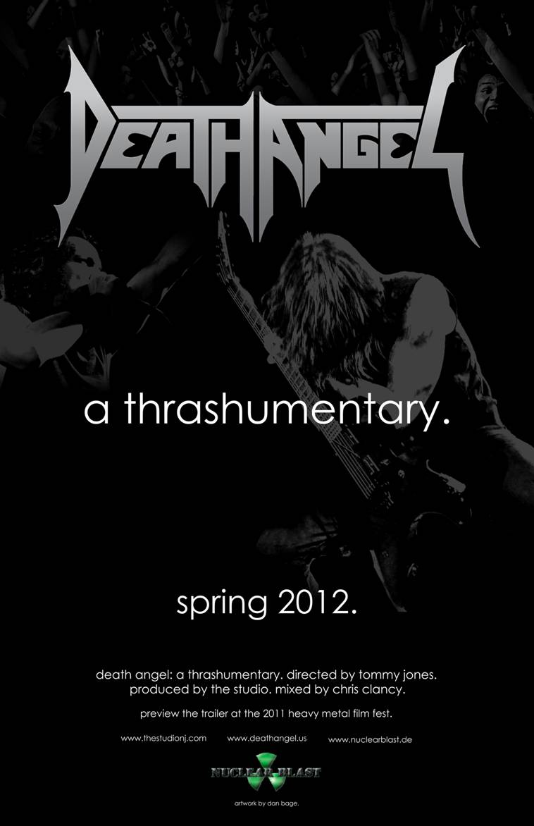 Death Angel Thrashumentary Poster
