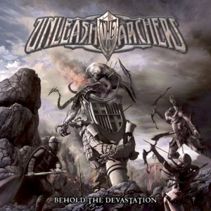 Unleash The Archers Behold The Devastation Artwork