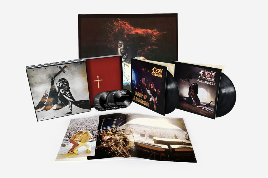 Ozzy Blizzard Of Ozz Diary Of A Madman Reissue