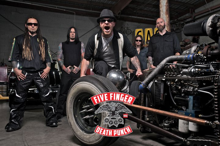 Five Finger Death Punch Band Photo