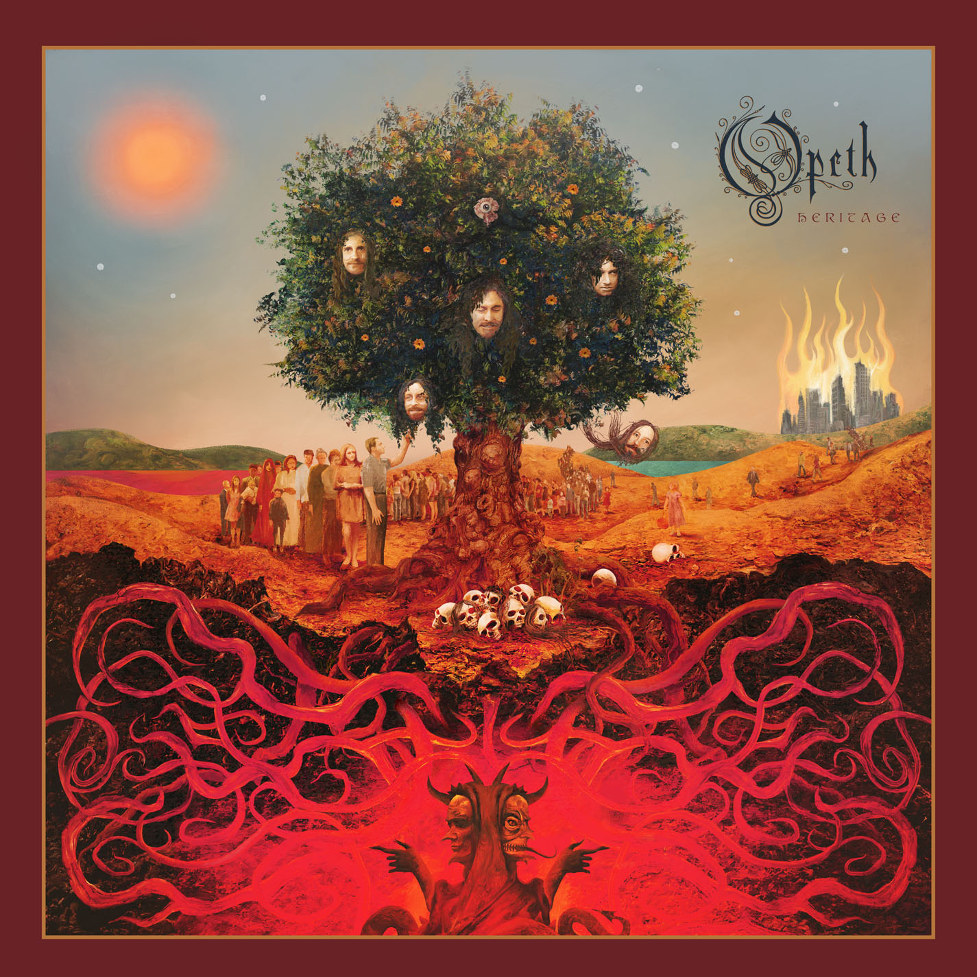 Opeth Heritage Artwork
