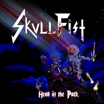 Skull Fist Head Of The Pack