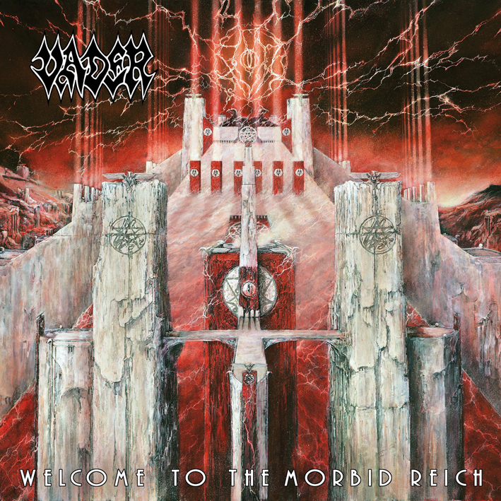 Vader Welcome To The Morbid Reich Artwork