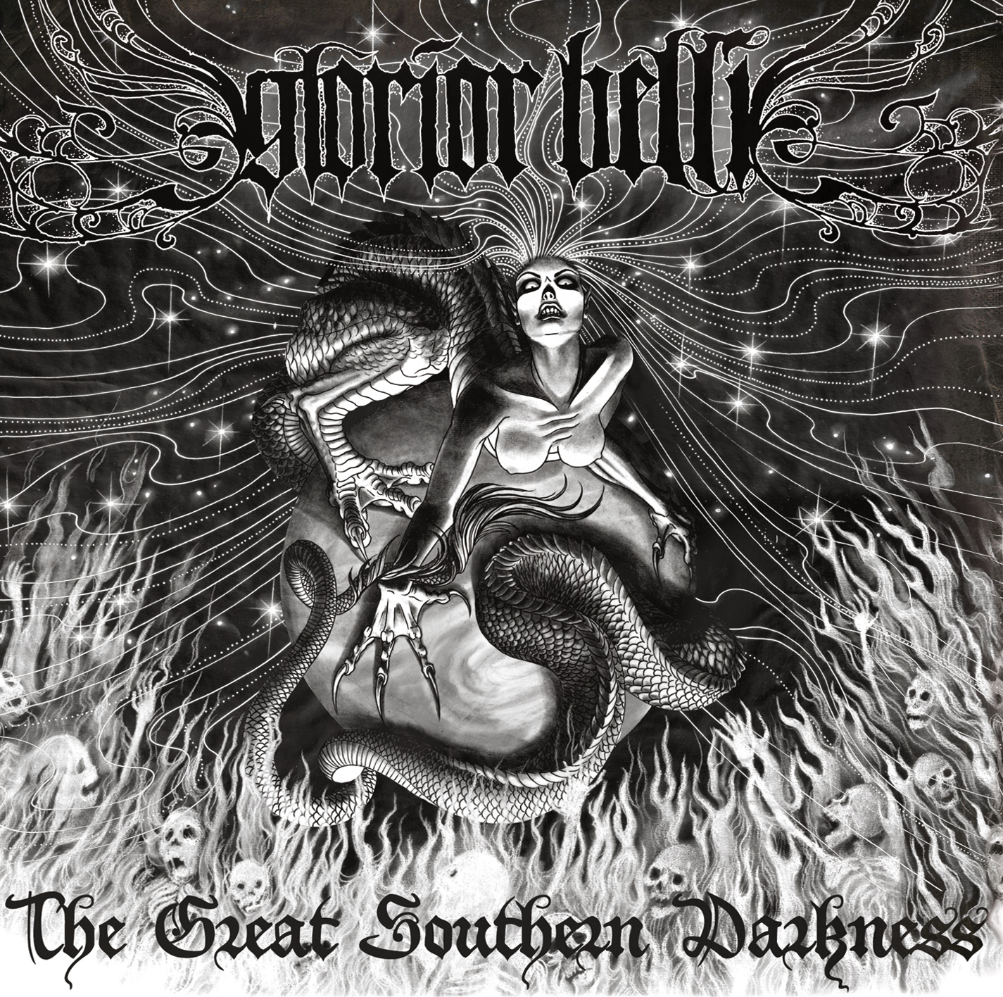 Glorior Belli The Great Southern Darkness Artwork