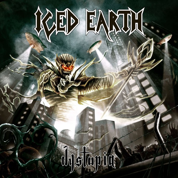 Iced Earth Dystopia Artwork