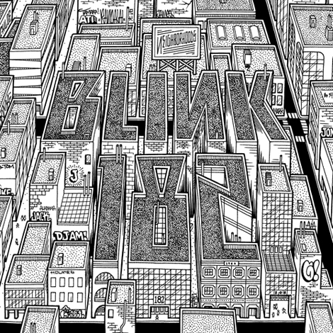 Blink-182 Neighborhoods artwork