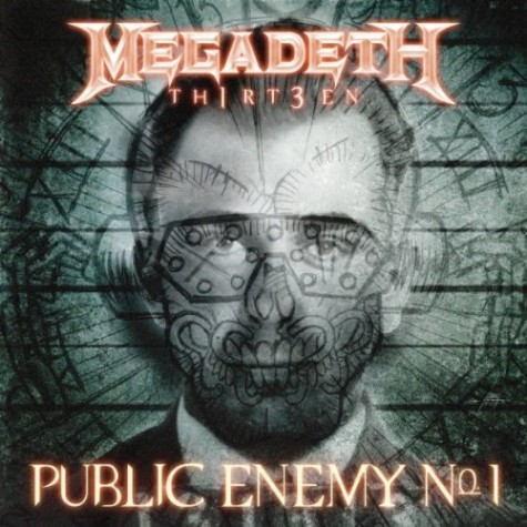 Megadeth Public Enemy No 1 Artwork