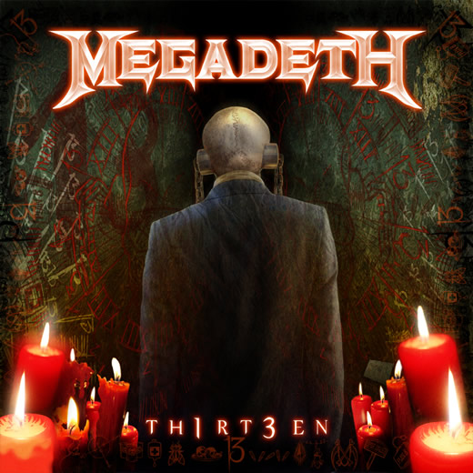Megadeth Thirteen Album Artwork