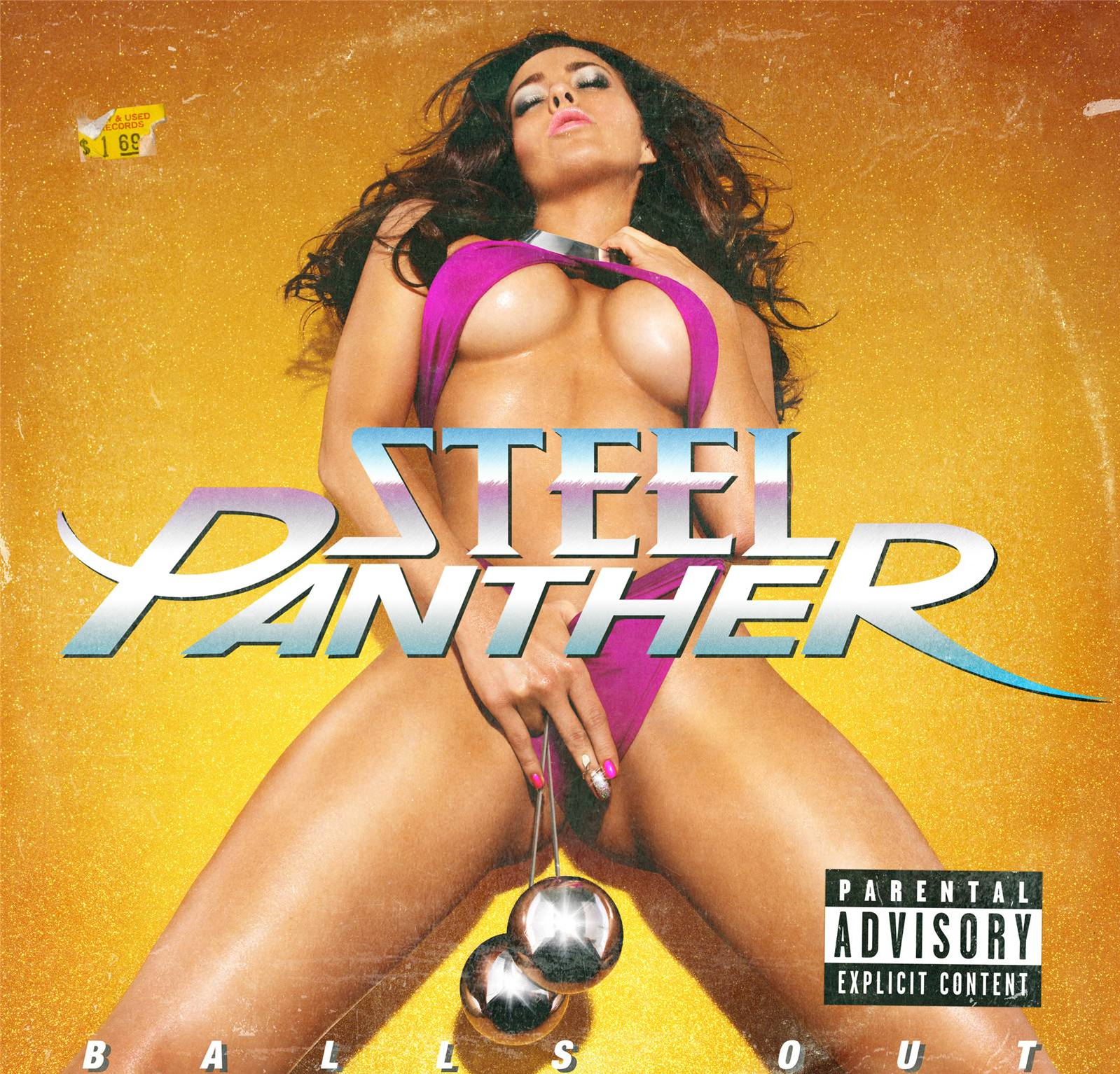 Steel Panther Balls Out Artwork