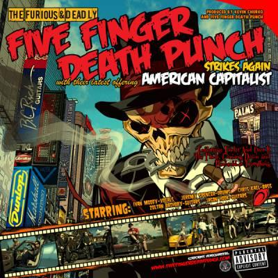 Five Finger Death Punch American Capitalist Artwork