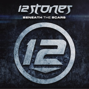 12 Stones Beneath The Scars Artwork