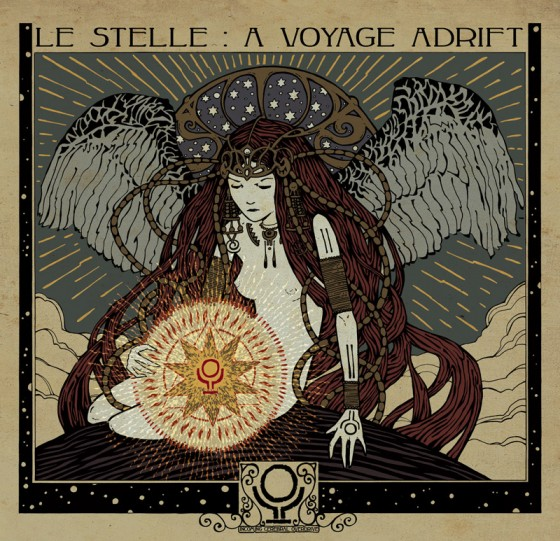 Incoming Cerebral Overdrive Le Stelle A Voyage Adrift Artwork