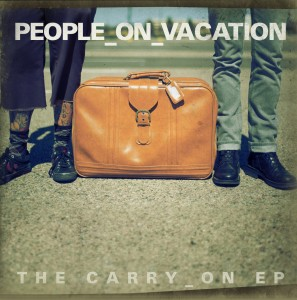 People On Vacation The Carry On EP Artwork