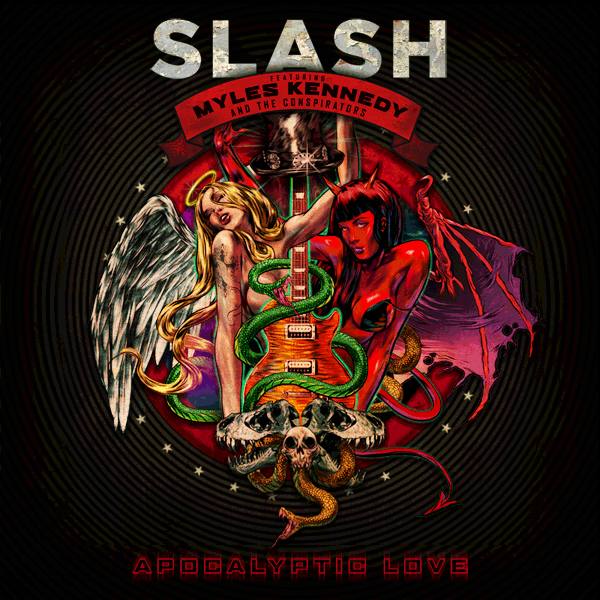 Slash Apocalyptic Love artwork