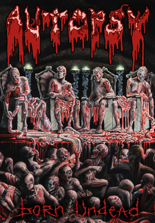 Autopsy Born Undead Artwork
