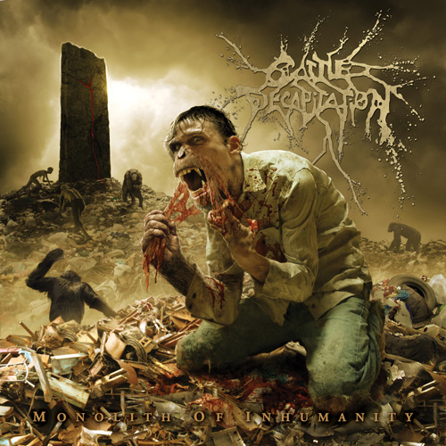 Cattle Decapitation Monolith of Inhumanity Artwork