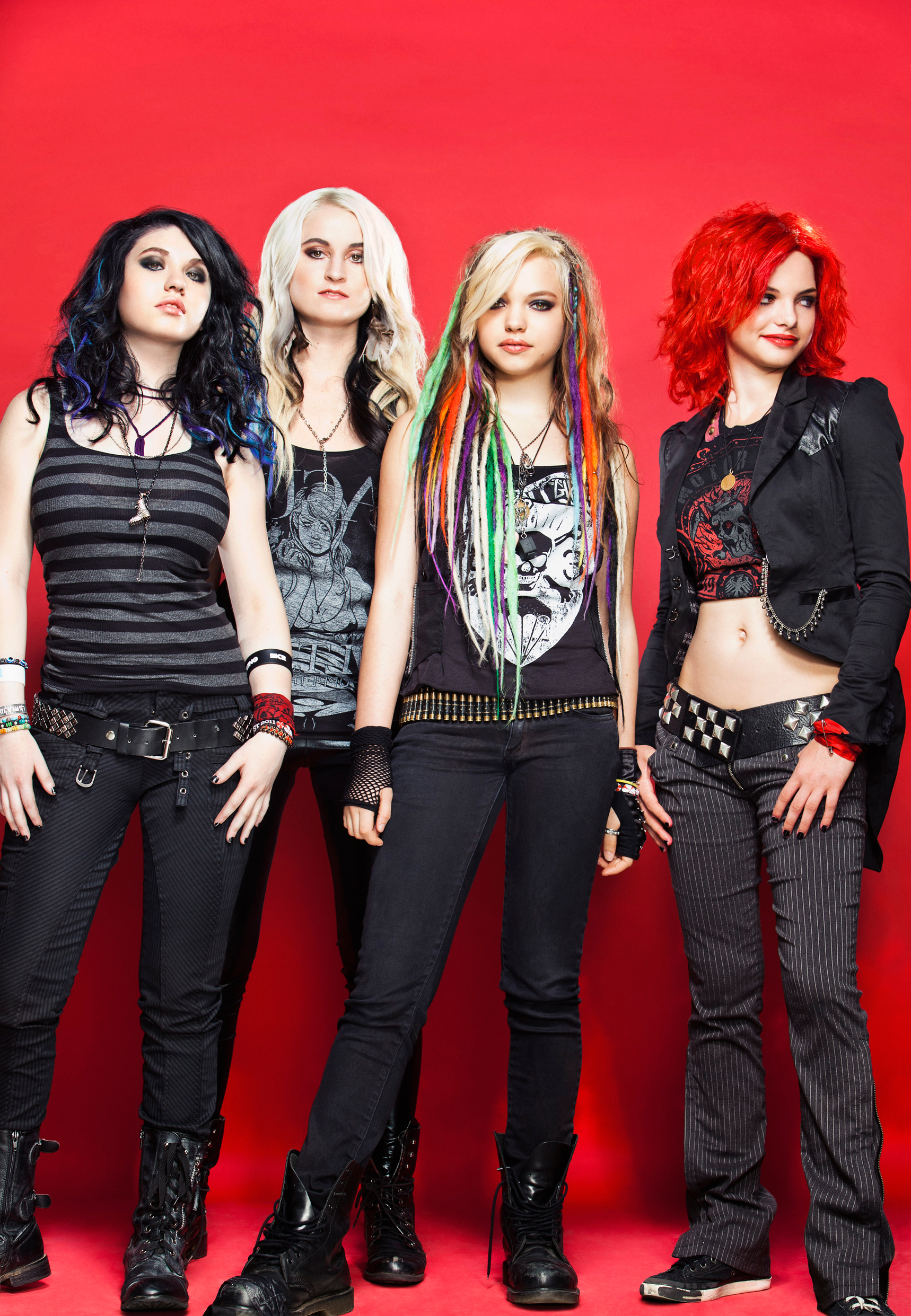 Cherri Bomb Band Photo