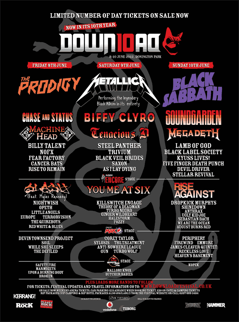 Download Festival 19th March Poster