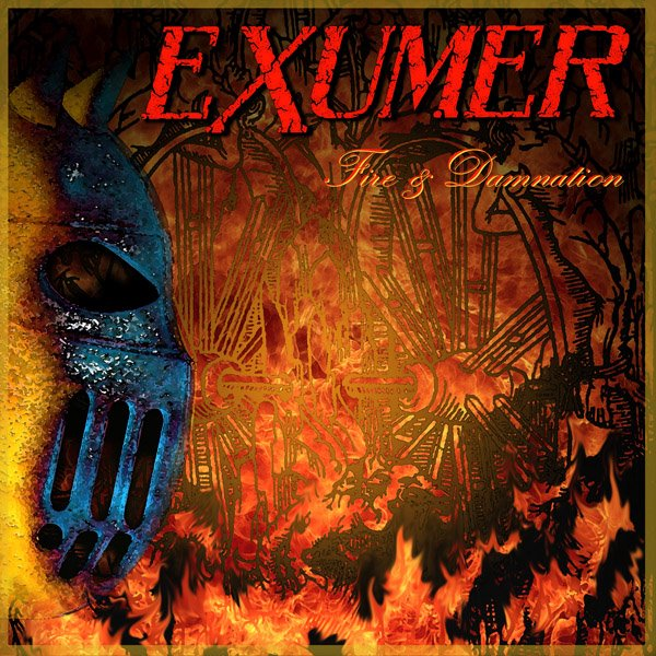 Exumer Fire And Damnation Artwork