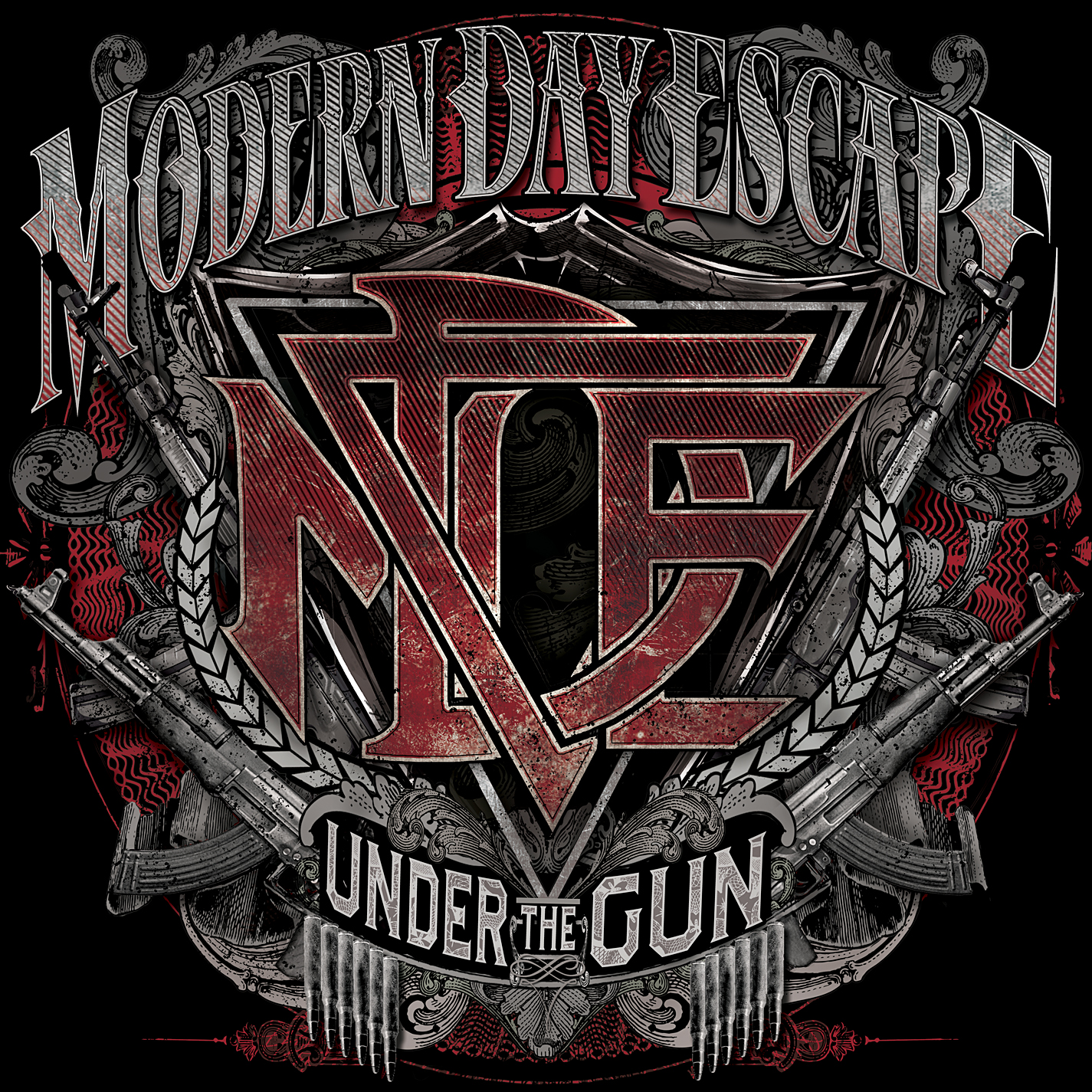 Modern Day Escape Under The Gun Artwork
