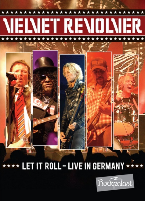 Velvet Revolver Let It Roll Live In Germany DVD Artwork
