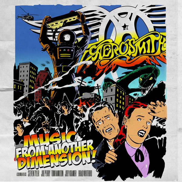 Aerosmith Music From Another Dimension Artwork