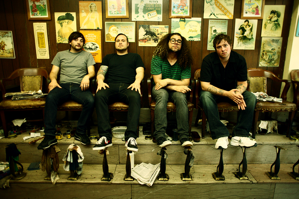 Coheed And Cambria Band Photo