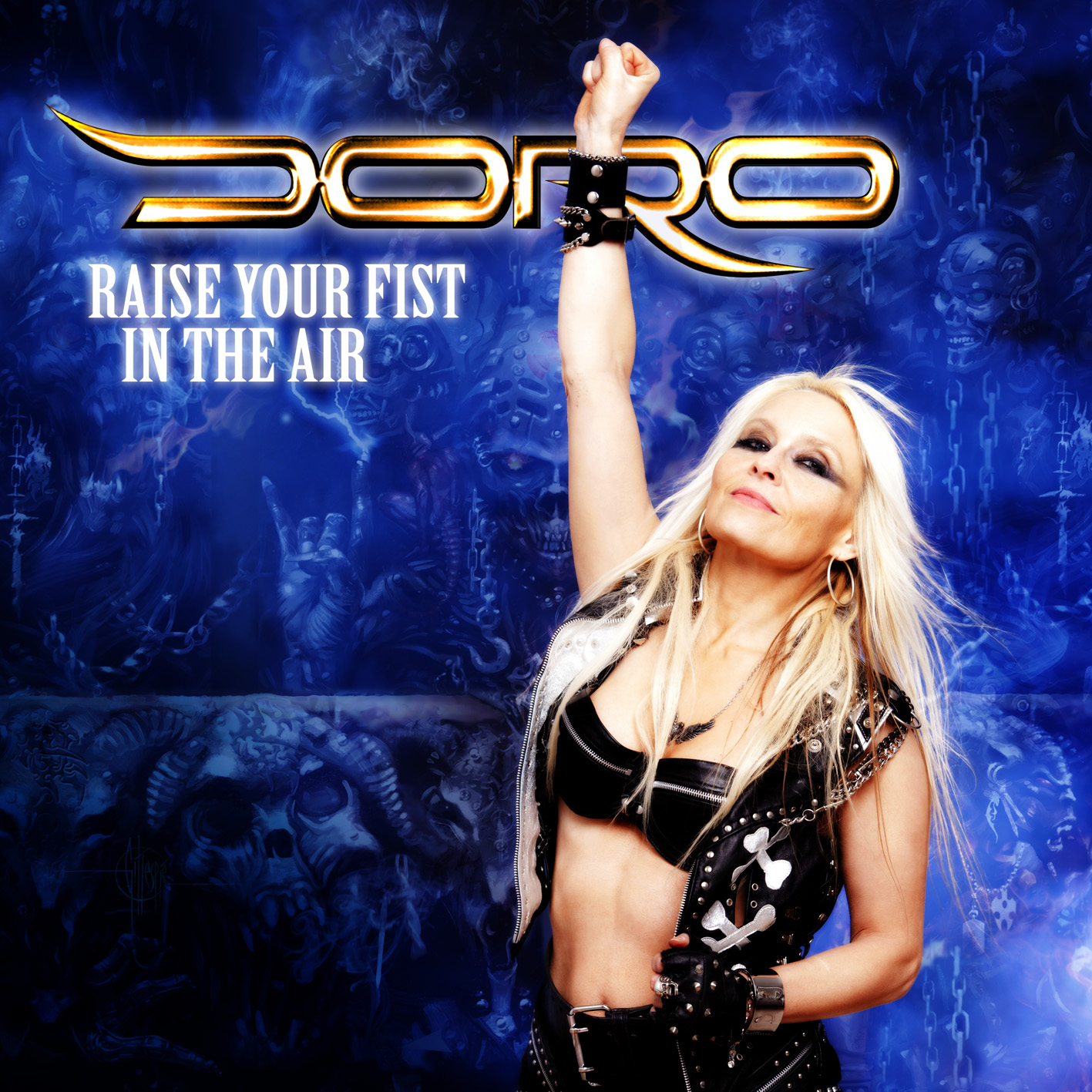 Doro Raise Your Fist In The Air Vinyl Cover