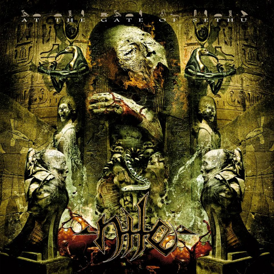 Nile At The Gate Of Sethu Physical CD Artwork