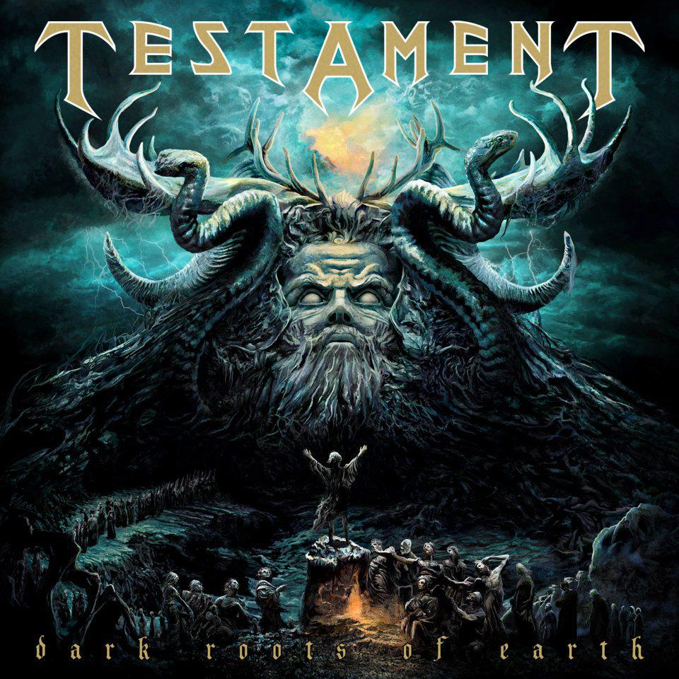 Testament Dark Roots Of Earth Artwork