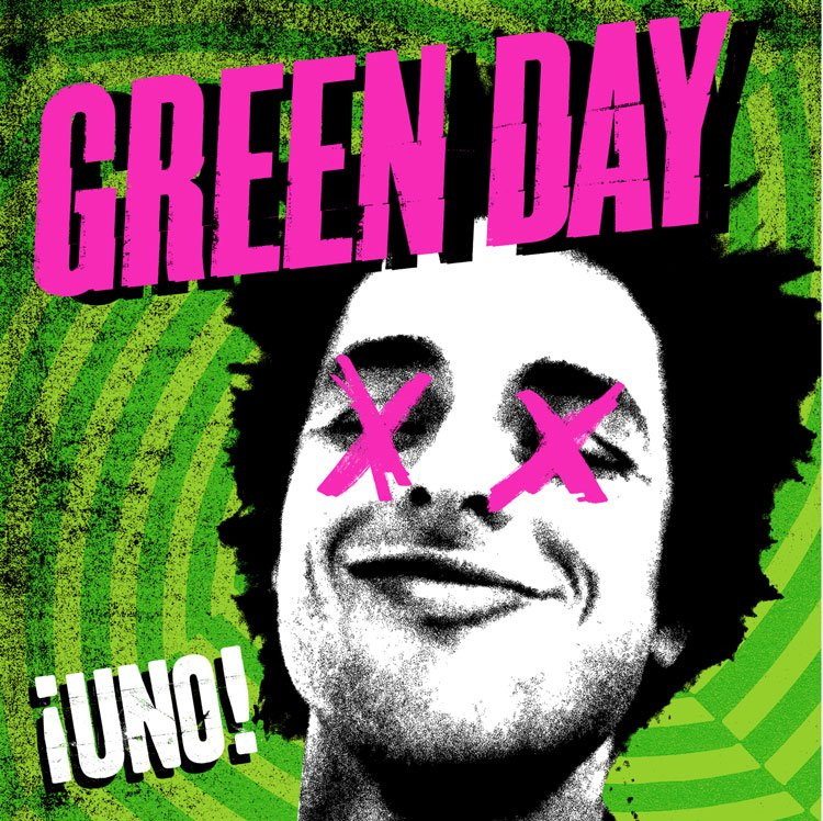 Green Day ¡Uno! artwork