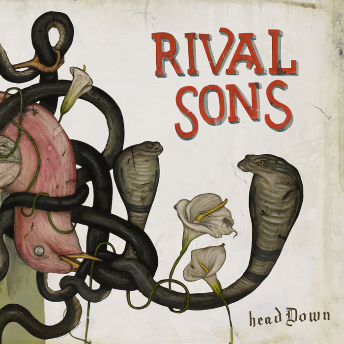 Rival Sons Head Down Artwork
