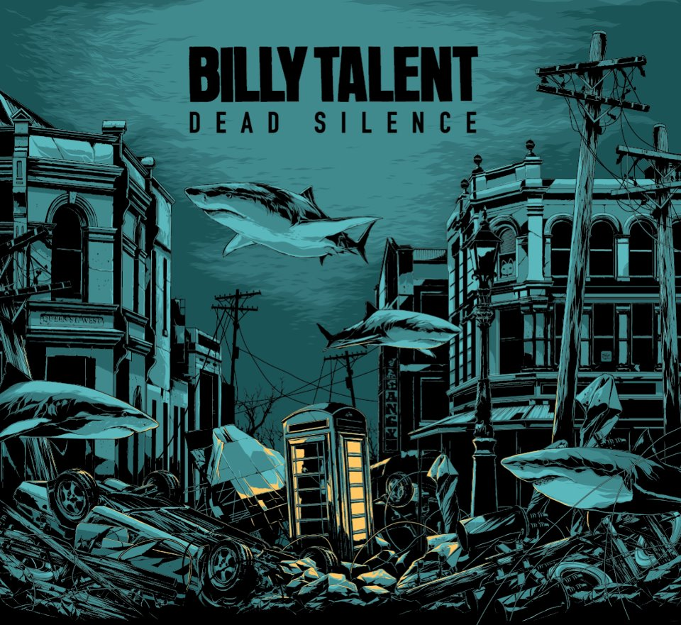 Billy Talent Dead Silence Artwork