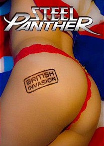 Steel Panther British Invasion Artwork