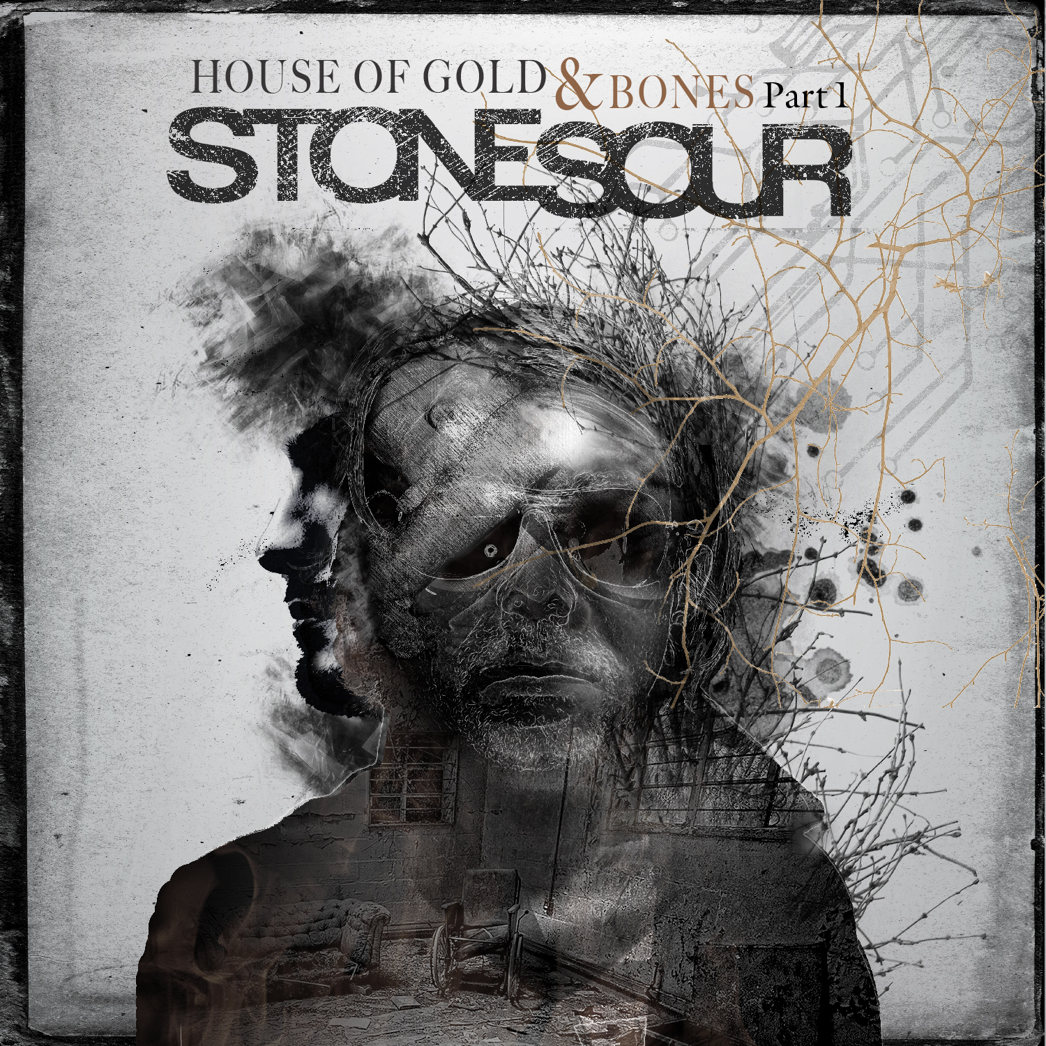 Stone Sour House of Gold and Bones Part 1 Artwork